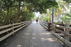 South beach board walk