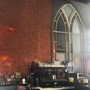 Copper Walls Gothic mirro