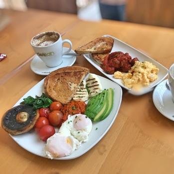 full veg breakfast