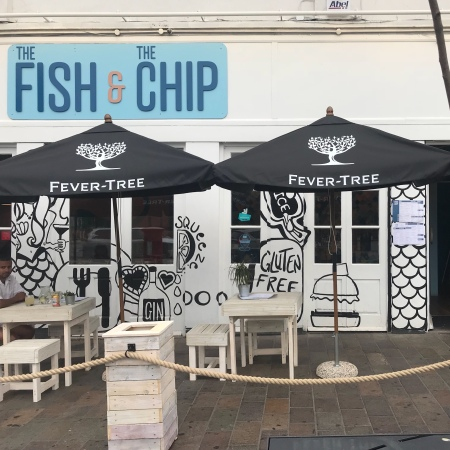 Exterior of the fish and chip