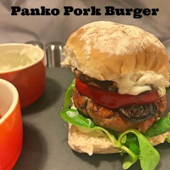 Panko burger