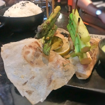 Barramundi fish with lemon and lime