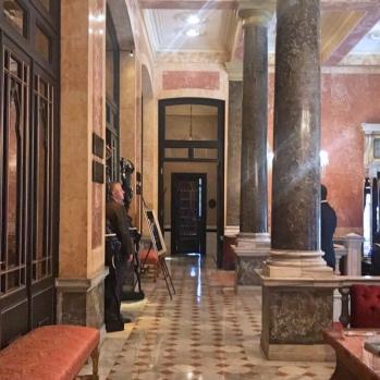 Pera Palace Hotel Lobby
