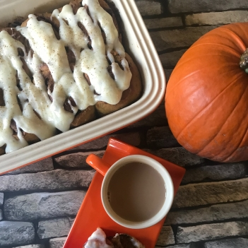 Pumpkin spiced rolls