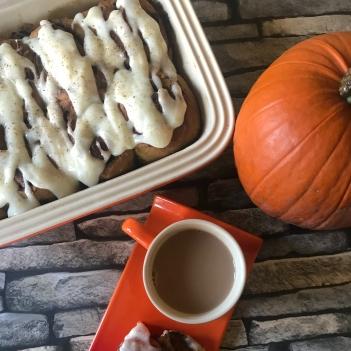 Pumpkin spiced rolls