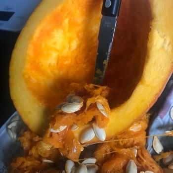 Pumpkin scrapping