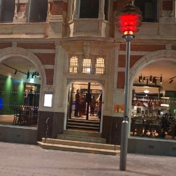 Entrance to Arts Club