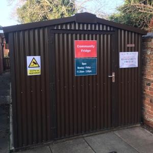 The community fridge Leicester