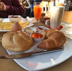Viennese breakfast Naschmarkt