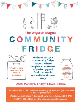 Wigston Magna Community Fridge