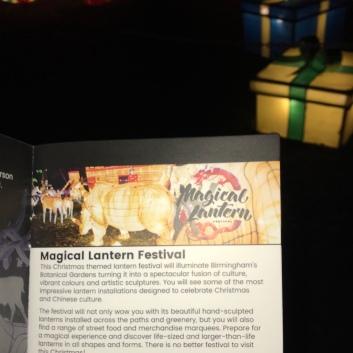 Magic Lantern Festival ticket