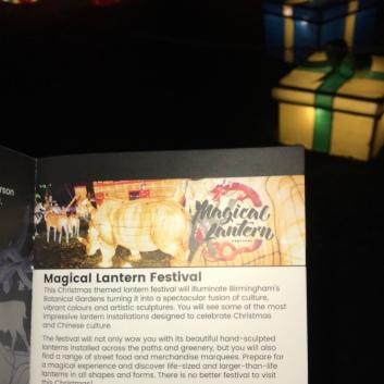 Magic Lantern Festival ticket