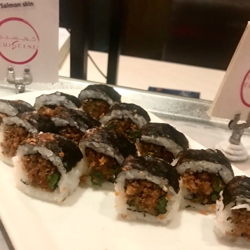 Sushi at Cuiscene