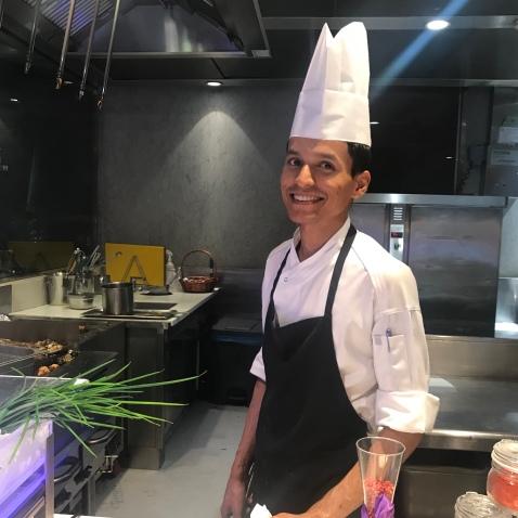 Chef at Cuiscene Fairmont Bab Al Bahr