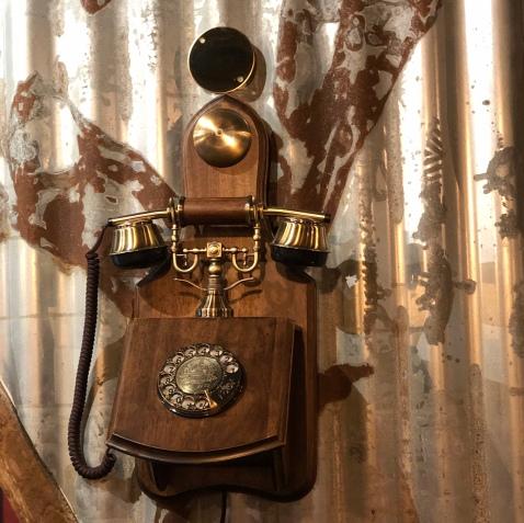 Traditional phone decor