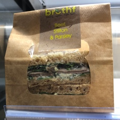 Sandwich to Grab and Go with healthy bread