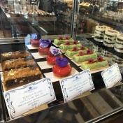 Cake selection at Al fayrooz lounge