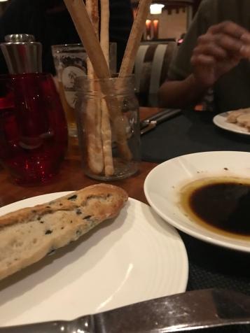 Bread and Olives Fairmont Bab Al Bahr