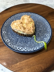 Valentines key lime pie