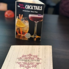 Cocktail promotion