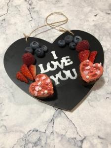 Healthy valentines treat