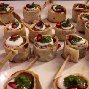 Lamb Kebab Rolls