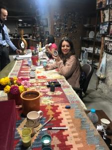Sultan ceramics making pottery