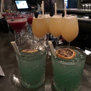 Cocktails at Cinnamon Kitchen