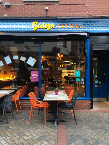 Bodega Cantina Leicester store front