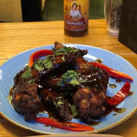 Mexican Cola Large Chicken Wings