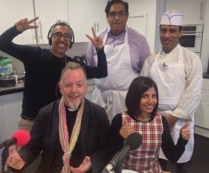 The team at The Curry Show