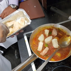 Making Fish Tawa