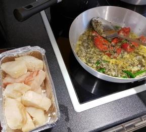 Fish tawa in the making