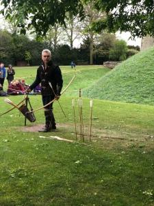 Bowman show warwick castle