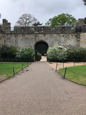 Gardens at Warwick Castle