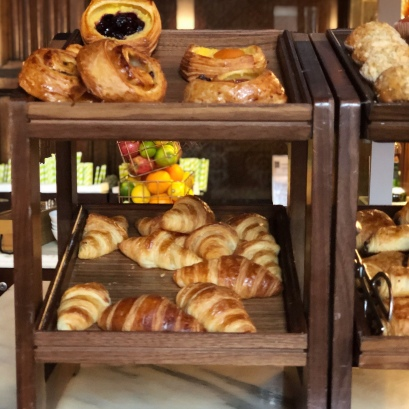 Pastries at Booking Office