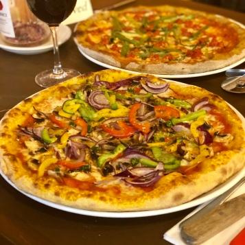 Tumeric base pizza