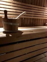 Sauna at St Pancras