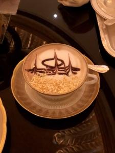 23 karat gold flake cappuccino