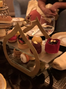 Sweet treats in the afternoon tea