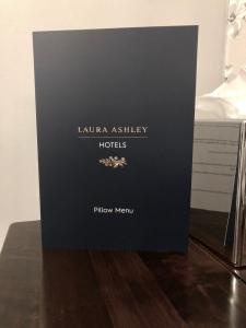 Pillow Menu Laura Ashley Hotels